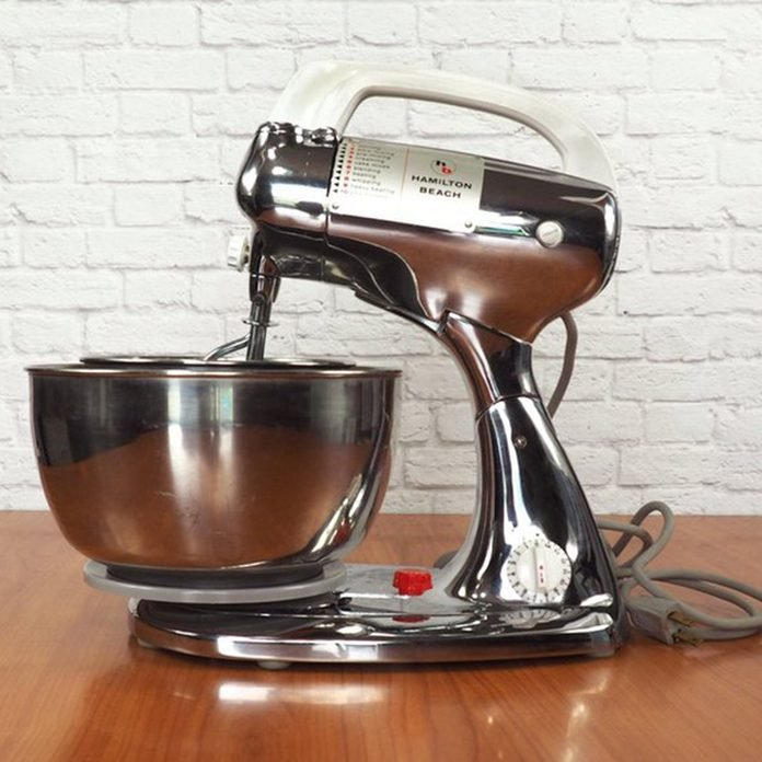 Retro 50s Chrome Stand Mixer by Hamilton Beach Model K