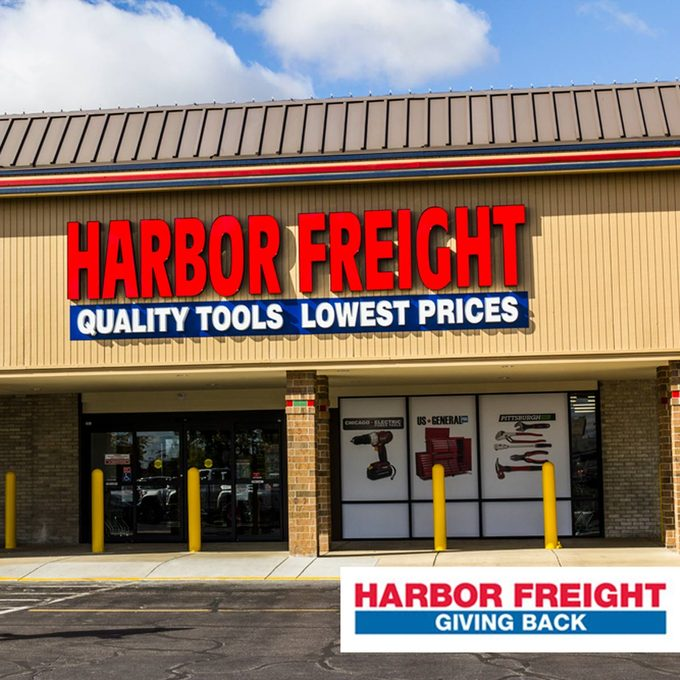 harbor freight store front