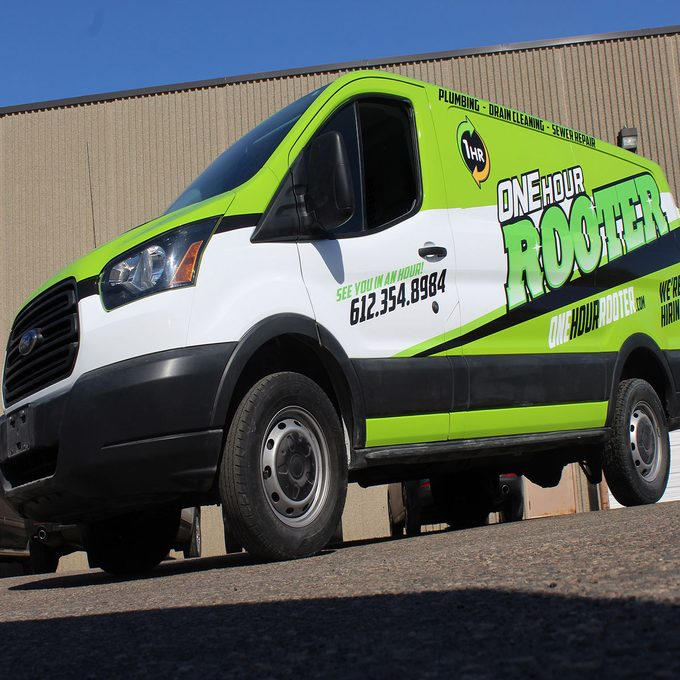 Sprinter van that has been decaled | Construction Pro Tips