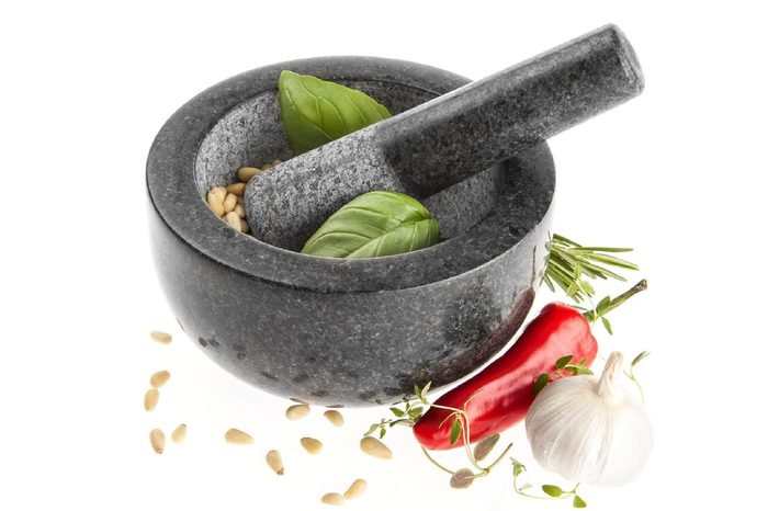 Kota Japan Granite Mortar & Pestle