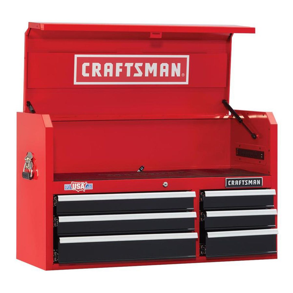 2000 Series H 6-Drawer Ball-bearing Steel Tool Chest