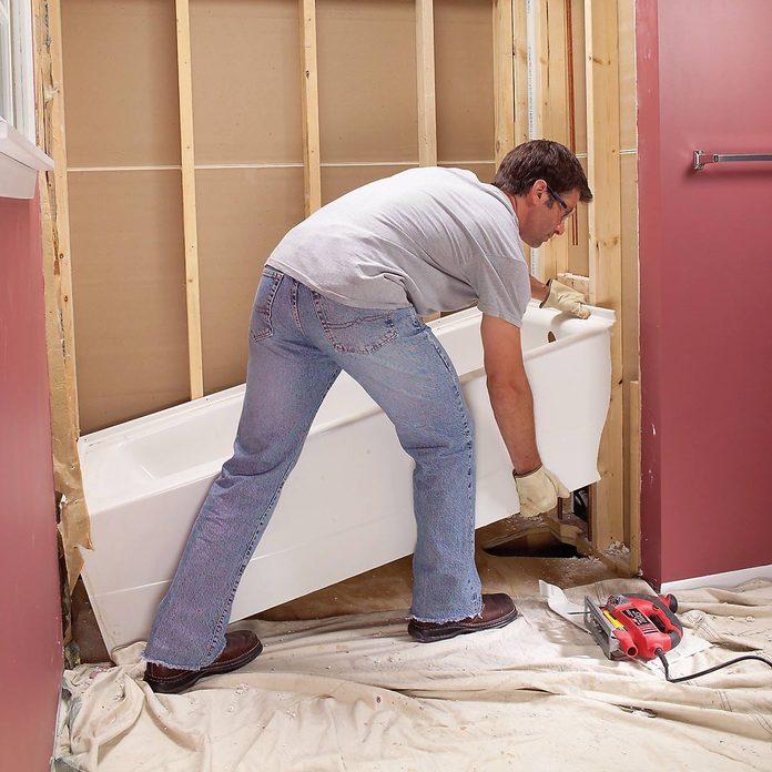 bathtub removal
