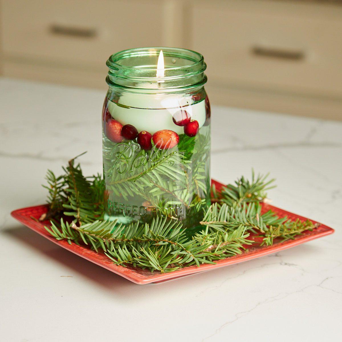 HH handy hint illuminated holiday jars