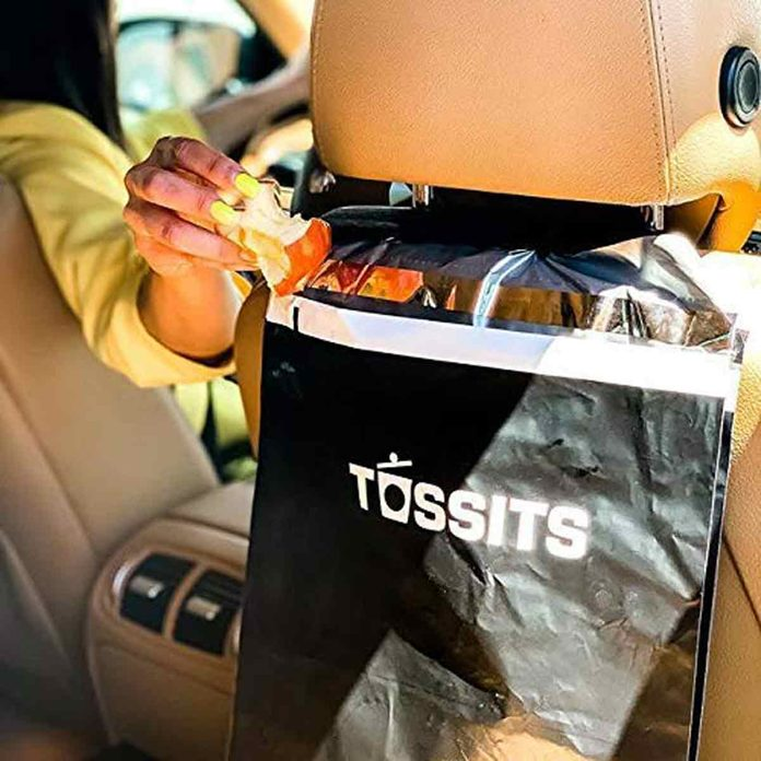 Tossits-car-garbage-bag