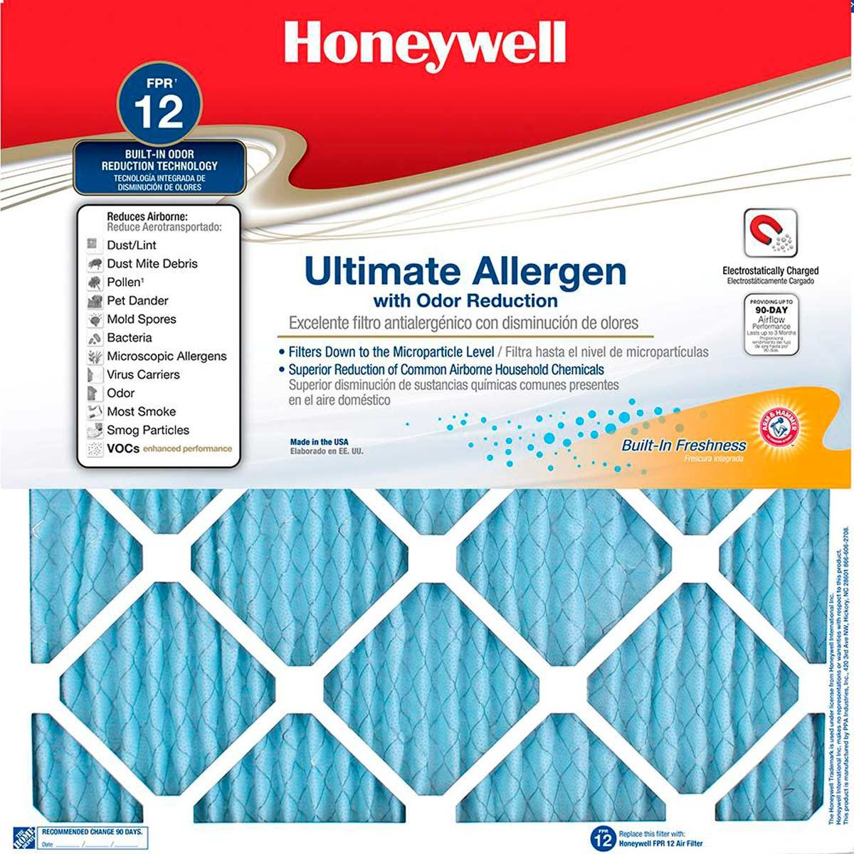 honeywell-air-filters home depot furnace filter