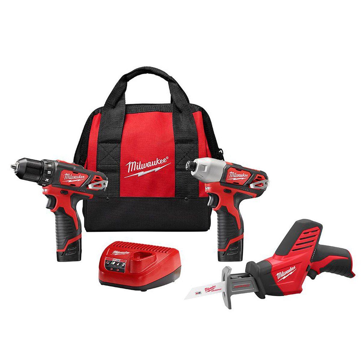 milwaukee cordless power tool kit