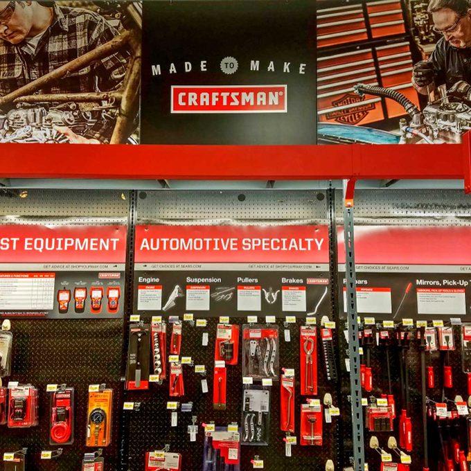 craftsman tool display