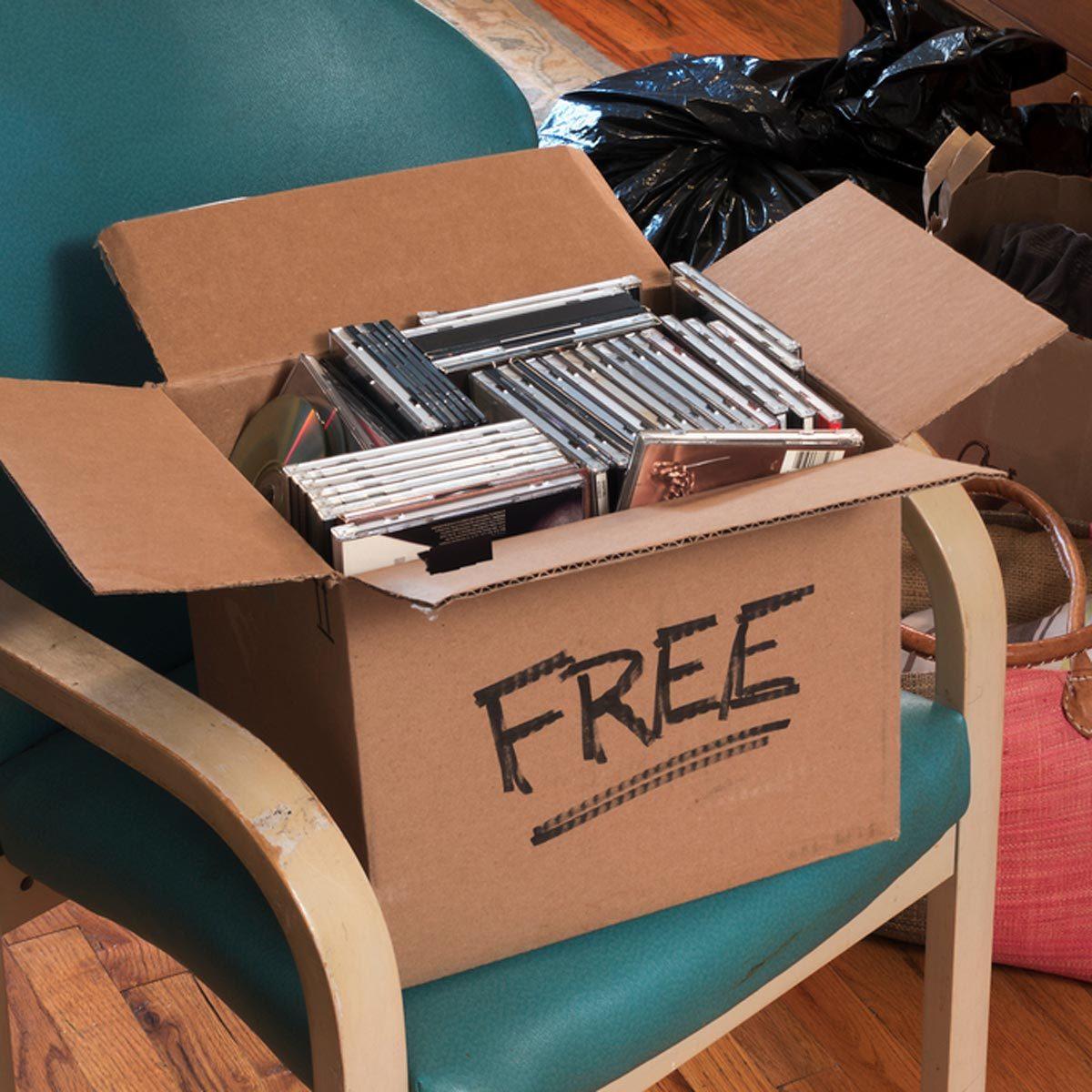 free stuff box