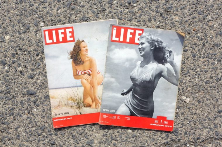 AMELAND, DUTCH - 22JULY 2017.: International magazine LIFE. July 7, 1947.