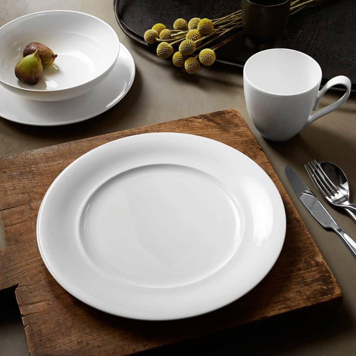 Classic White Dinnerware Set