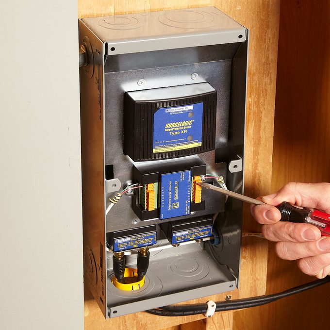A whole-home surge protector | Construction Pro Tips