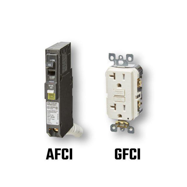 AFCI and a GFCI | Family Handyman