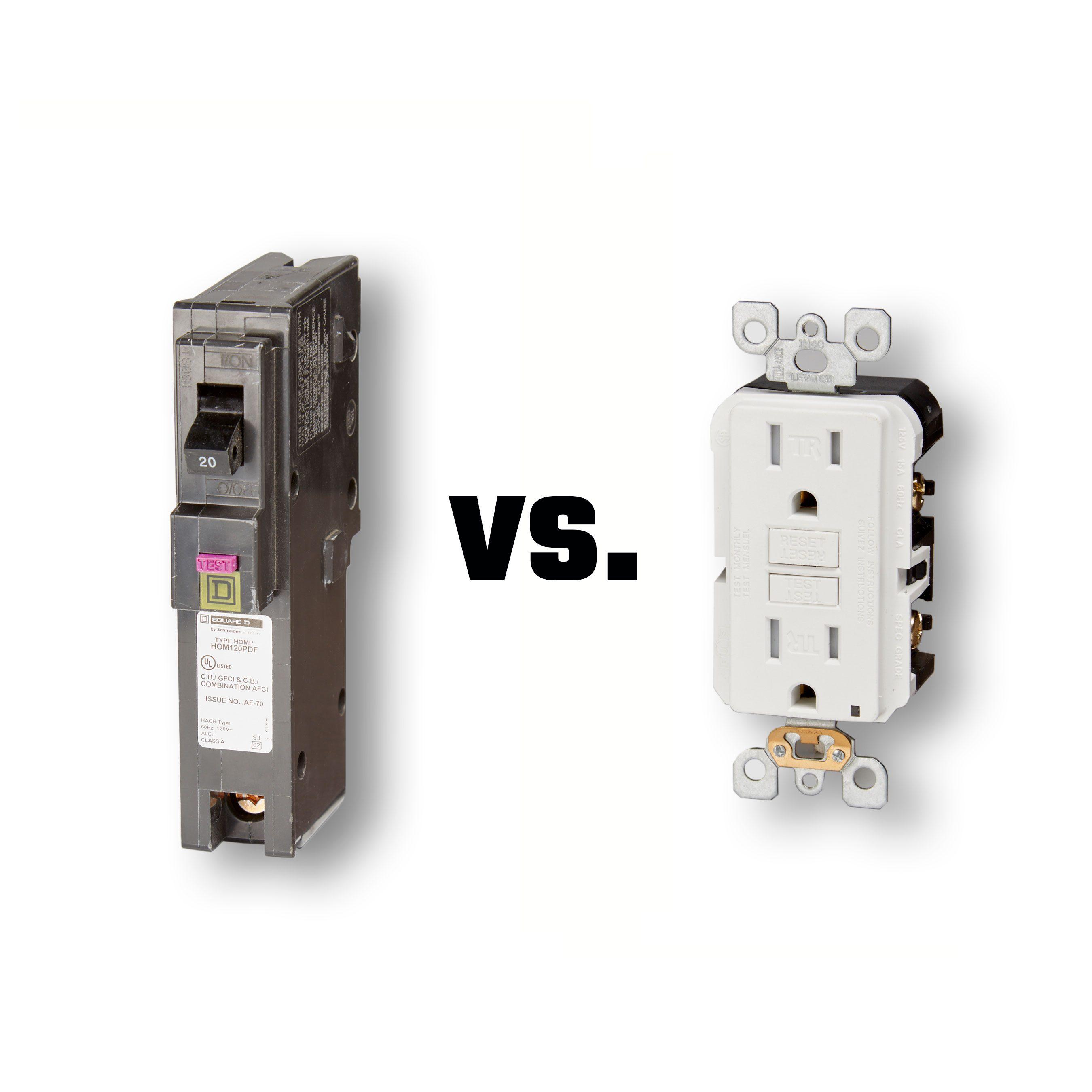 GFCI vs. Receptacle | Construction Pro Tips