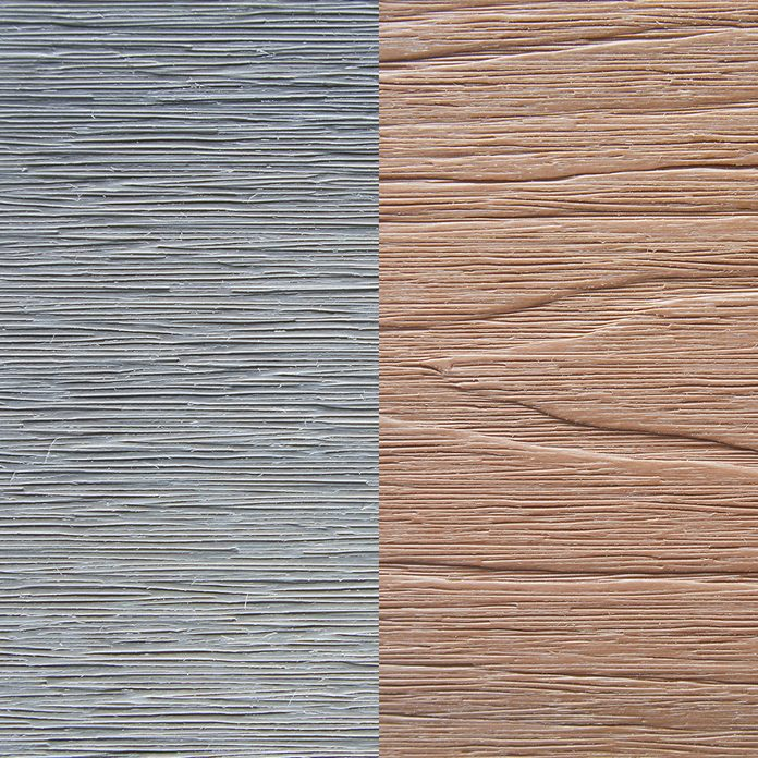 Two examples of deck color and grain   Construction Pro Tips