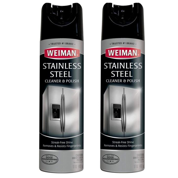 stainless steel cleaner and polish
