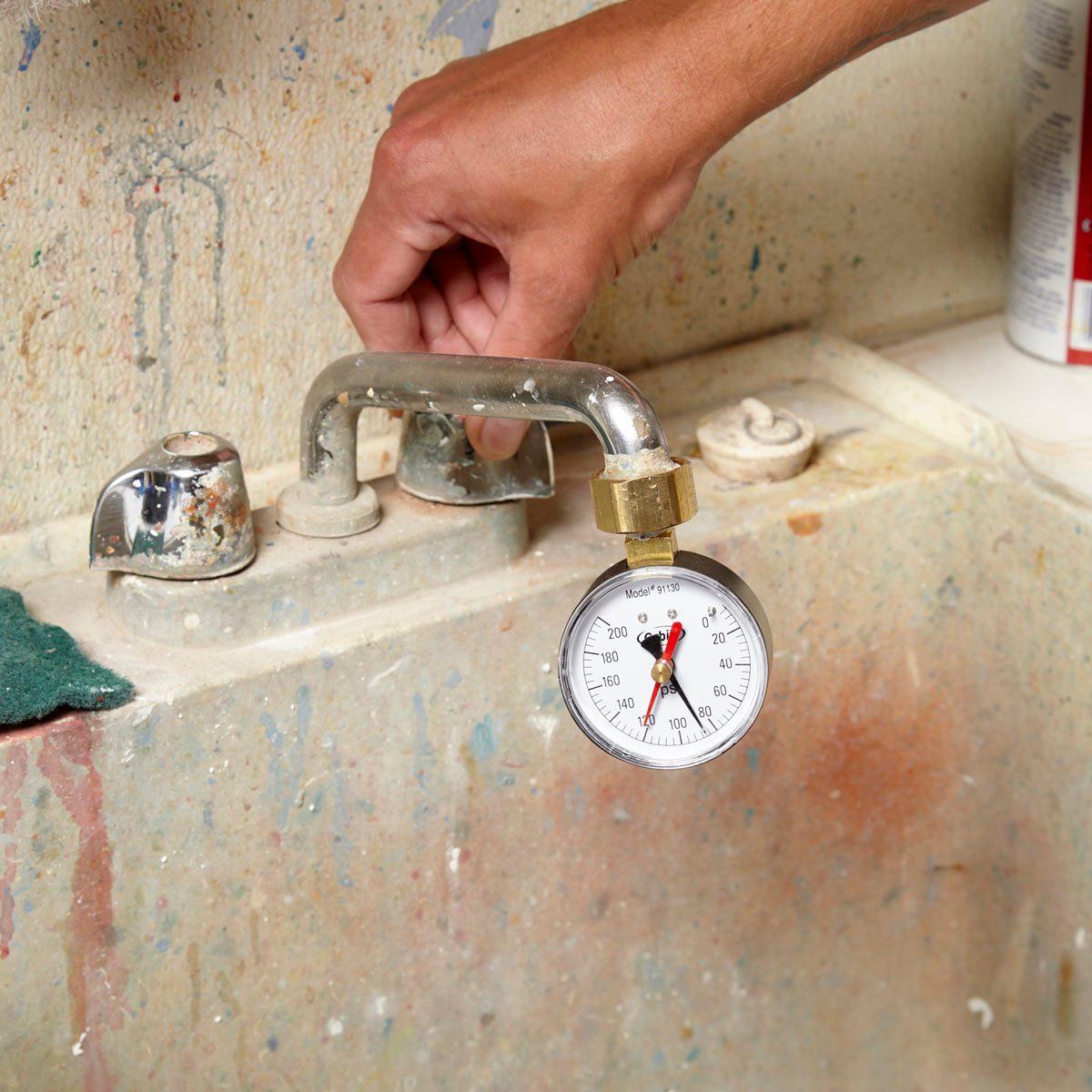 high water pressure