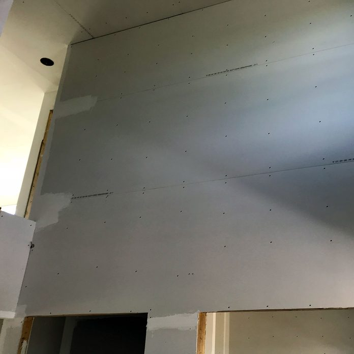 A wall of drywall   Construction Pro Tips