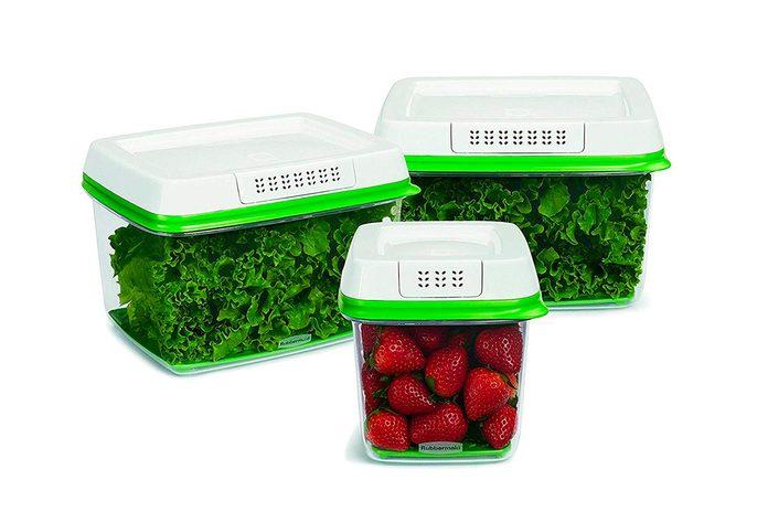 Rubbermaid produce storage