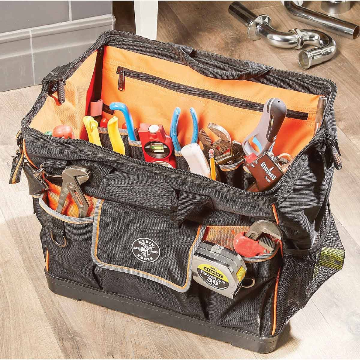 Tradesman Pro Wide-Open Tool Bag by Klein Tools Featured