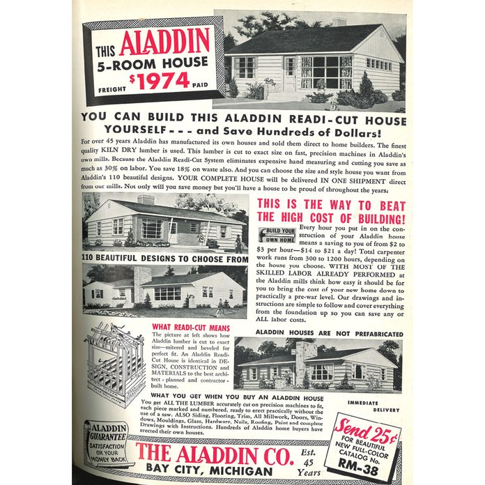 An ad for a 5-room house for less than $2000 | Construction Pro Tips