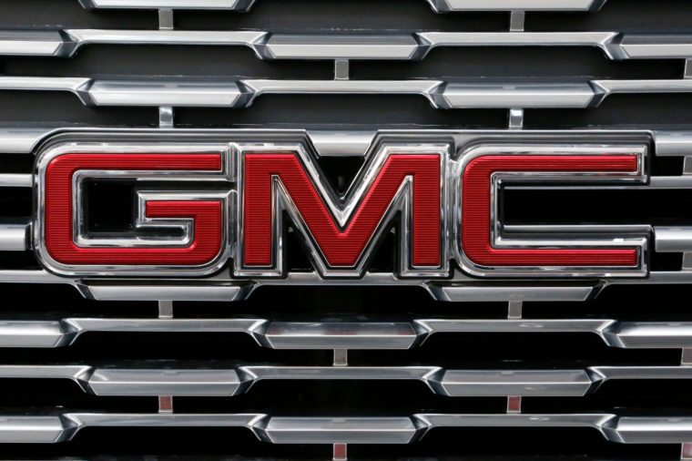 GMC Trucks, Pittsburgh, USA - 15 Feb 2018