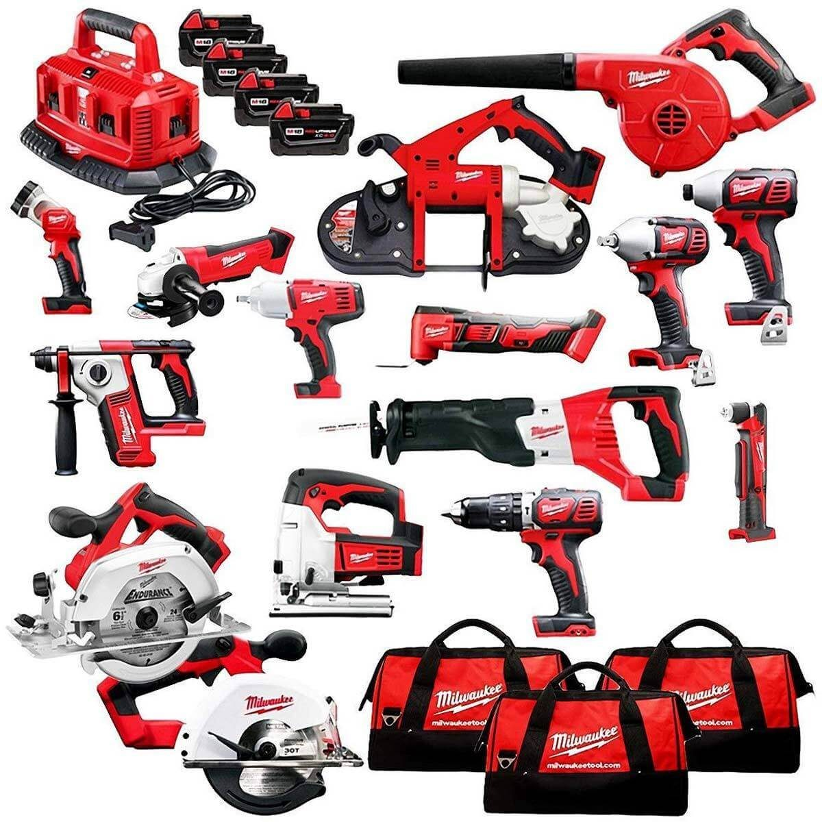 Milwaukee M18 Combo Kit