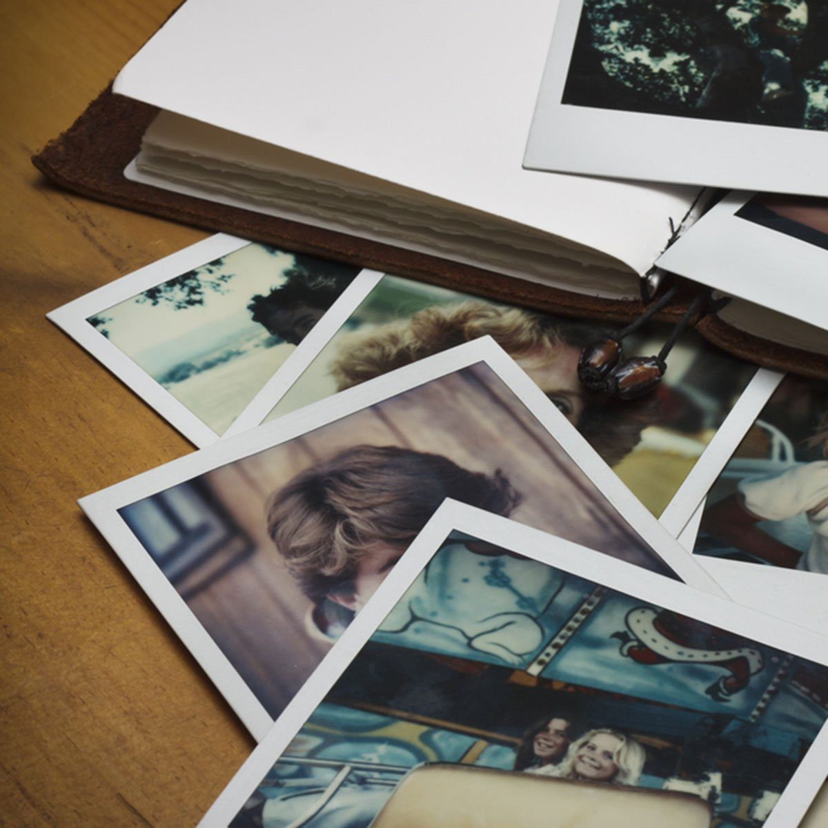 Old pictures and a journal.; Shutterstock ID 100487740