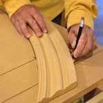 A Simple Math-Free Method for Marking and Cutting Radius Trim