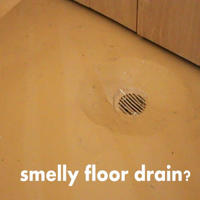 A drain, in the floor. | Construction Pro Tips
