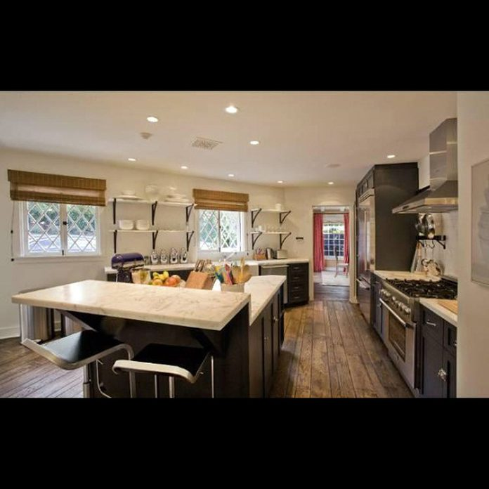 Jennifer Aniston and Justin Theroux's rental home in Los Angeles