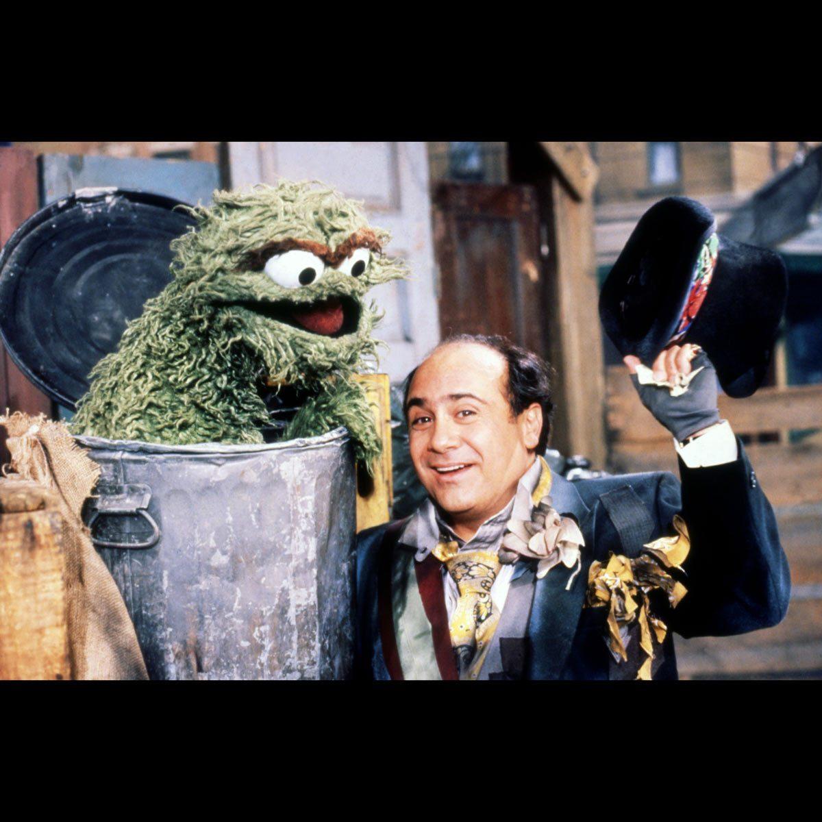Oscar the Grouch trash can