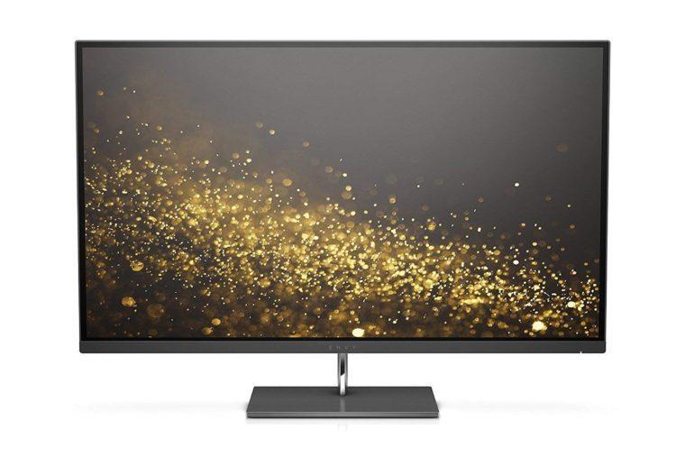 HP Envy 27-inch UHD 4K IPS Monitor with Micro-Edge Bezel and AMD FreeSync (Black)