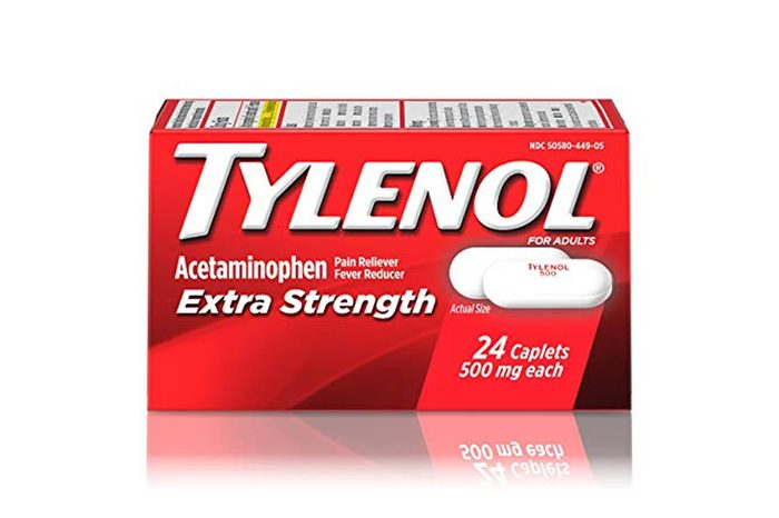 Tylenol Extra Strength Caplets, Fever Reducer And Pain Reliever, 500 Mg, 24 Ct.
