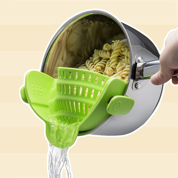 Clip On Silicone Colander
