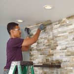 Build a Faux Stone Accent Wall