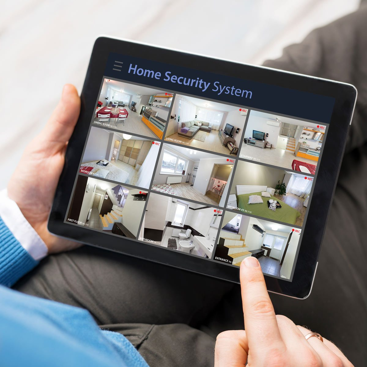 security camera system footage app