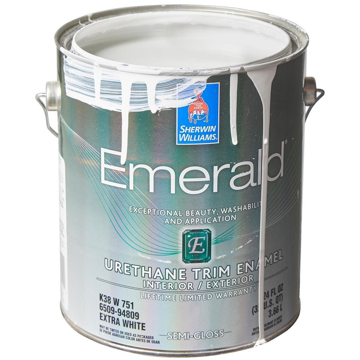 SHERWIN-WILLIAMS EMERALD URETHANE TRIM ENAMEL trim paint