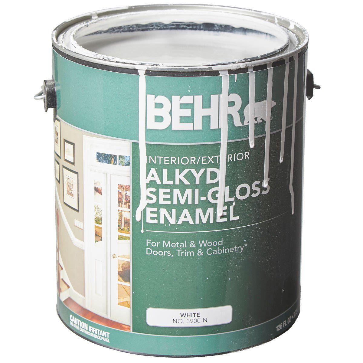 Behr alkyd trim paint