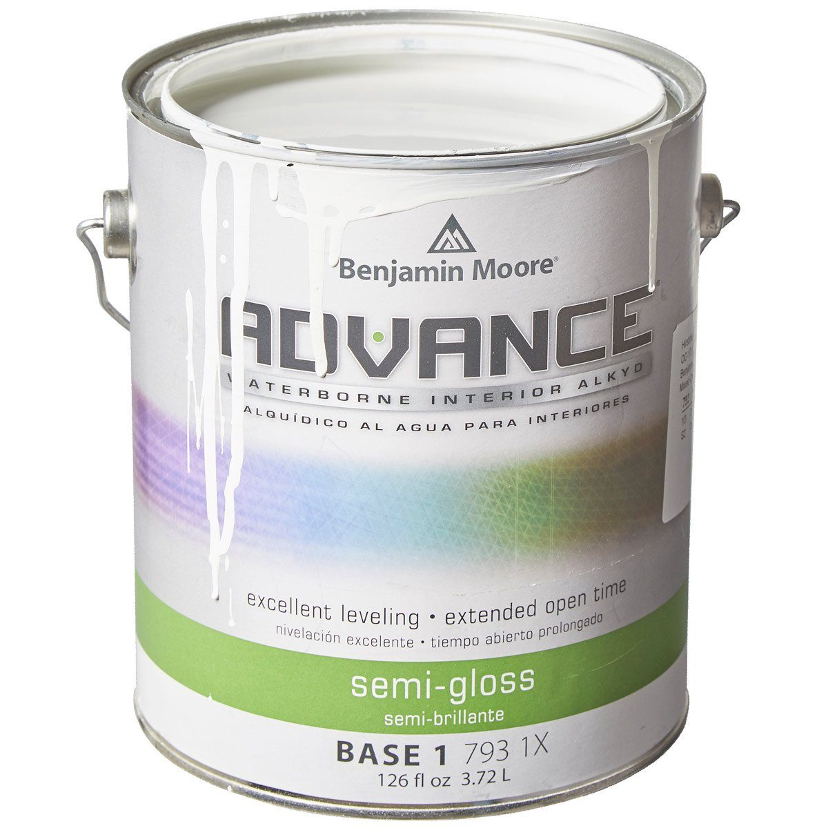 Benjamin moore advance trim white paint