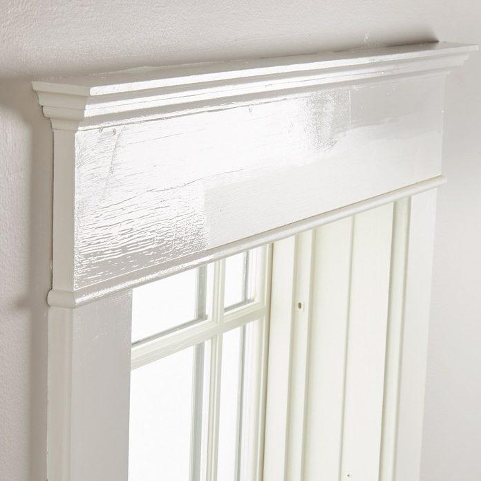 white window trim