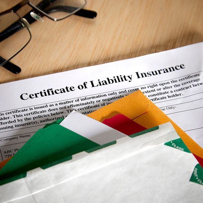 Certificate of Liability Insurance | Construction Pro Tips