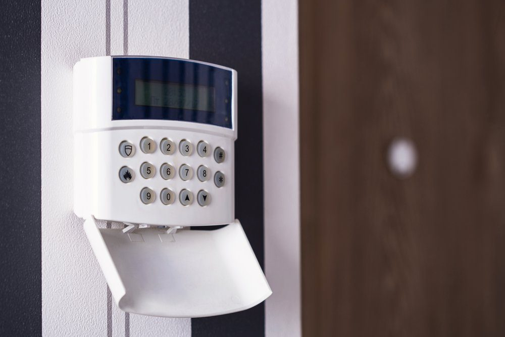 A properly installed alarm may deter some thieves.