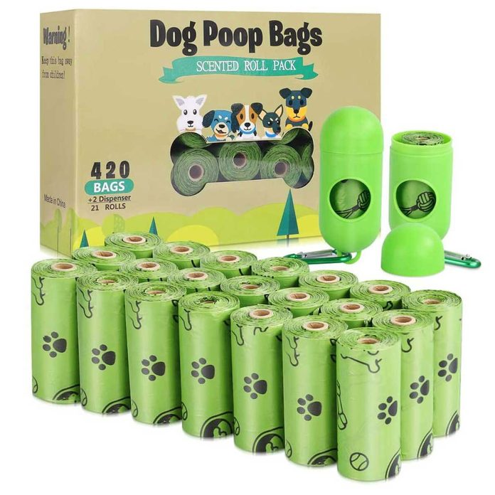 Dog Poop Bag Keychain
