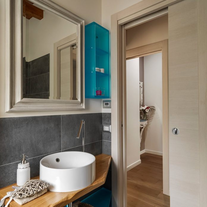 door small master bathroom ideas