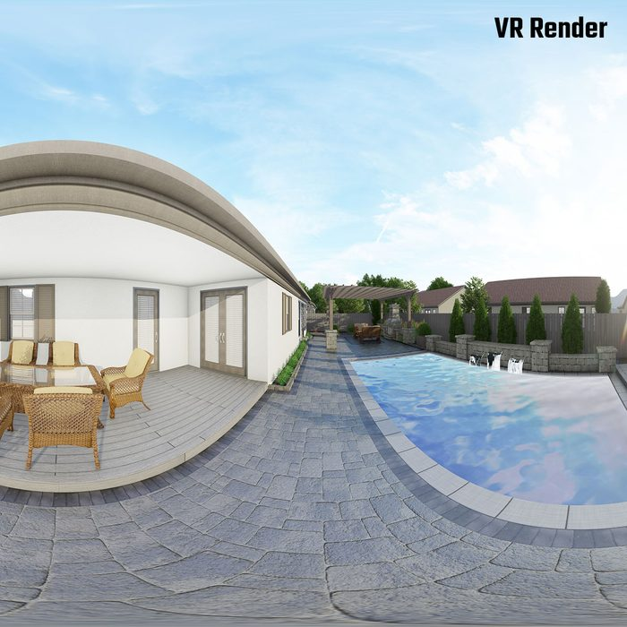 Virtual Reality rendering of a renovation project | Construction Pro Tips