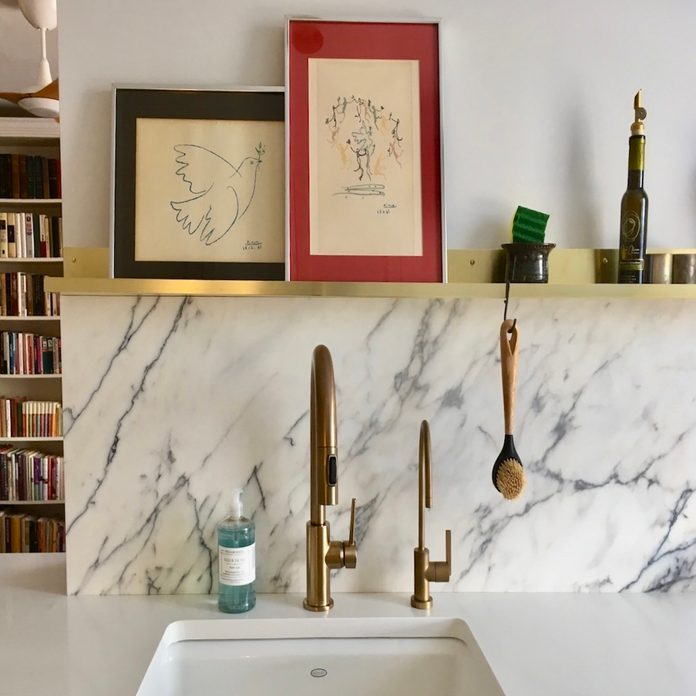 two faucets