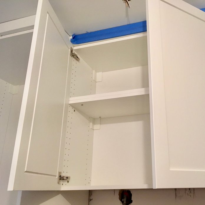 ikea cabinet interior
