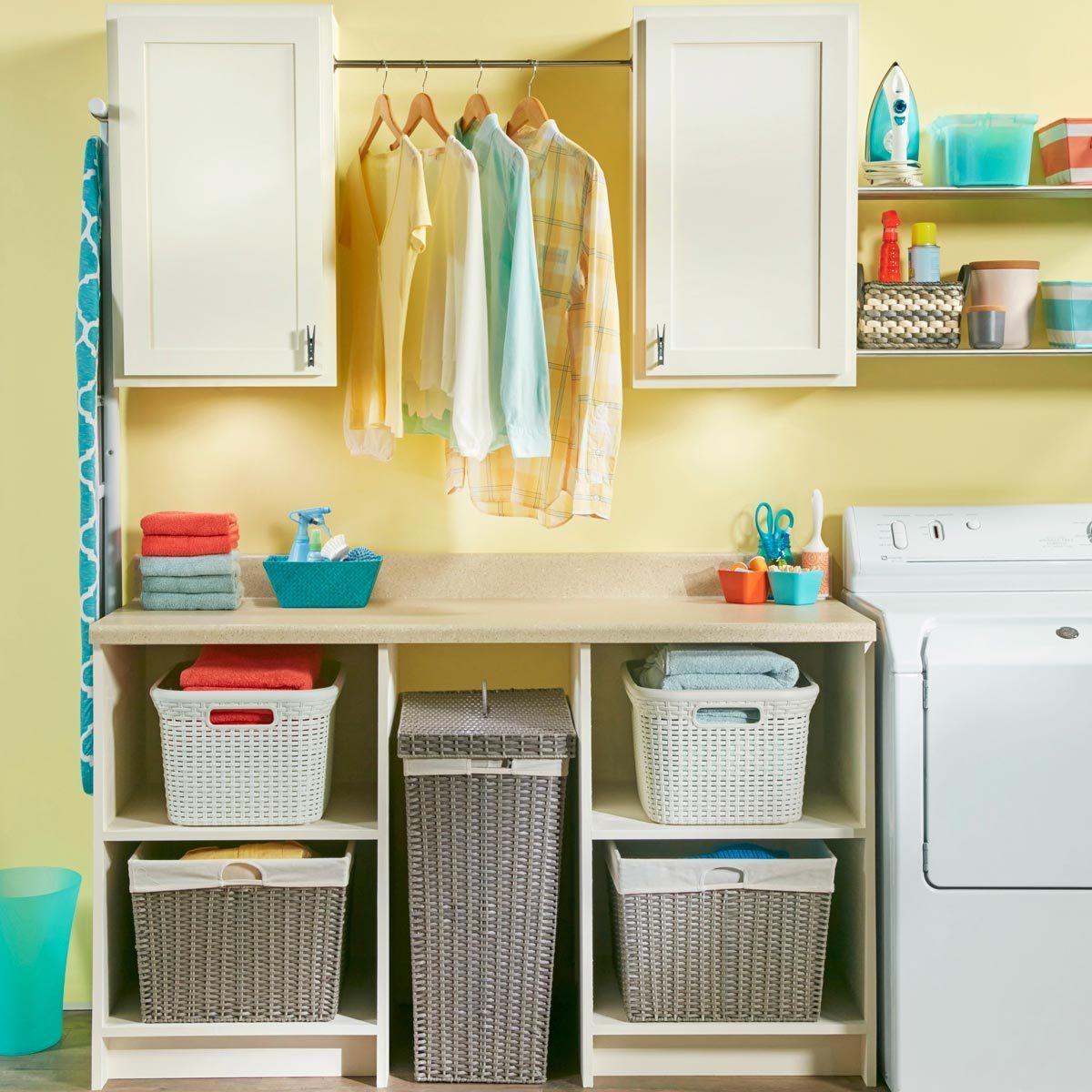 laundry room organizing ideas