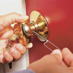 How to Re-key a Door Lock