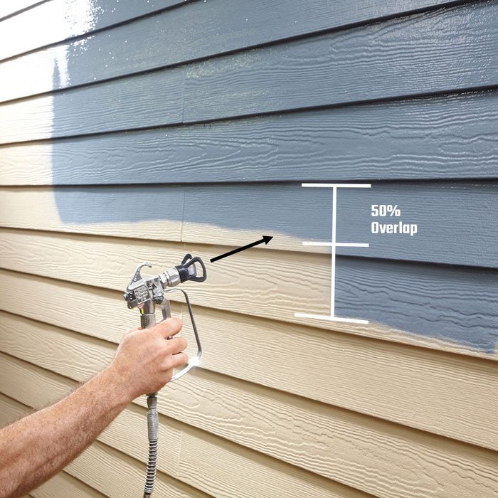 spray painting siding | Construction Pro Tips